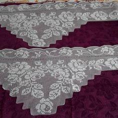 Embroidered Lace, Different, Quilts, Sewing, Knitting, Crochet, Handmade, Highlands, Crochet Table Runner