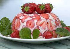 Stawberry Cake - Mansikkalotta, resepti – Ruoka.fi