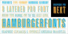 Free Retro and Vintage Fonts: Graphique Pro Next Comp Cursive Fonts, Monogram Fonts, Typography Fonts, Monograms, Graphic Design Layouts, Modern Graphic Design, Graphic Art, Geometric Font, All Caps Font