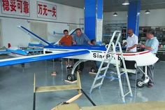 远征六号(遠征六号)。中国にある中国科学院大气物理研究所にて発表された自然観測向けのUAV(無人航空機)の一つ。磁気センサーを搭載して陸地の堆積物などを調査することを意図するとのこと。翼幅は8.1メートル。