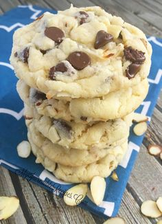 Almond Joy Cookies!  Delicious but I'd add more coconut - but then again, I love coconut!