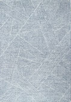 Latitude Run® Charish Abstract Hand Tufted Wool Blue/White Area Rug | Wayfair