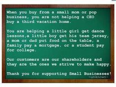 """Some of the GOOD things you do when you buy from a small business! Remember, that """"buy nothing"""" meme you hear during the big holdiays means """"Buy Nothing from WalMart!"""" It does NOT apply to us local, indie, small businesses! Dance Lessons, Life Lessons, Basket Store, Montgomery, Little Girl Dancing, Support Small Business, Got Him, Mom And Dad, Little Boys"""