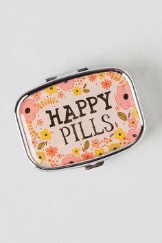 Small Pill Boxes Decorative Designer Pill Boxhouder  Decorative Pill Case With Gift Box