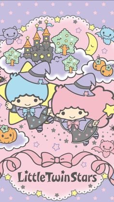 "Little Twin Stars ""Halloween"" Wallpaper. as courtesy of Sanrio Sanrio Wallpaper, Star Wallpaper, Fall Wallpaper, Wallpaper Iphone Disney, Kawaii Wallpaper, Hello Kitty Halloween, Kawaii Halloween, Cute Halloween, Little Twin Stars"