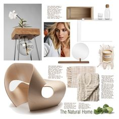 """""""NATURAL AND MODERN"""" by tiziana-melera ❤ liked on Polyvore featuring interior, interiors, interior design, home, home decor, interior decorating, Blu Dot, Surya, Muuto and Bloomingville"""