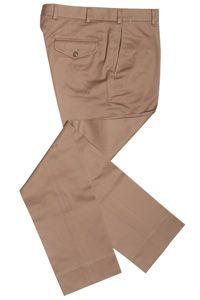 "Epaulet ""Walt"" Cramerton cloth khaki trouser"
