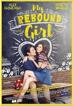 MY REBOUND GIRL - Philippines Filipino Tagalog DVD Movie: A young woman tired of being the rebound girl makes rules for herself to avoid that situation. But she is immediately challenged when she makes a connection with another heartbroken young man. Romance Movies, Hd Movies, Movies To Watch, Movies Online, Movies And Tv Shows, Movie Tv, Filipino, Joseph Marco, Pinoy Movies