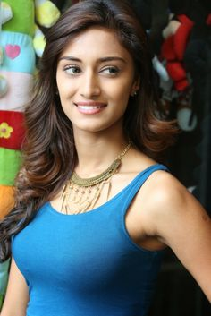 Erica Fernandes Showcasing Her Amazing Figure In a Blue Top and White Trousers At Telugu Film 'Galipatam' Press Meet | Bollywood Movies News...