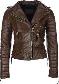 Resultado de imagen para chaquetas de cuero mujer