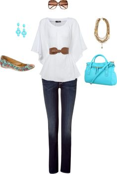 White Color :), created by kapatton on Polyvore