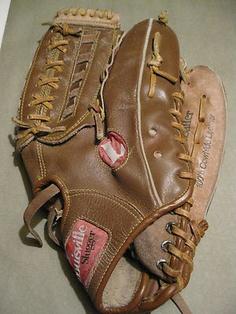 "Louisville Slugger Softball ""The Softballer"" 13 5"" Glove HBG9 Genuine Leather | eBay"