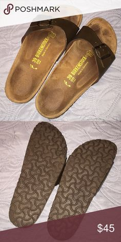 LIKE NEW Birkenstock sandals Like new size 39 Birks! Bought and wore a few times, just don't wear enough to keep! Birkenstock Shoes Sandals