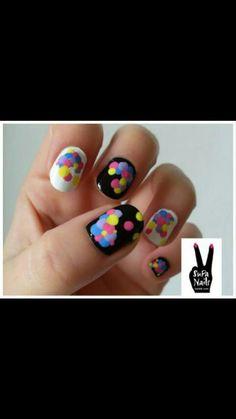Splat Nail Art...