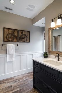 Street of Dreams 2013:  TTM Custom Home - transitional - powder room - portland - by Alan Mascord Design Associates Inc