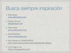 Resultado de imagen de diseño web pinterest inspiración