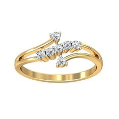 The ring is made from gold The ring is adorned with real diamonds Diamond carat Color IJ, very good stone cut, with SI clarity The post Belle Diamante Yellow Gold and Diamond Ring appeared first on Blooming Trenz. Gold Ring Designs, Gold Jewellery Design, Gold Rings Jewelry, Diamond Jewelry, Diamond Rings, Gold Finger Rings, Casual Rings, Small Rings, Gold Set