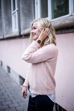 Outfit – Blush pink and a bit of layering on http://eva-jasmin.de/en/2016/10/outfit-blush-pink-and-a-little-bit-of-layering/