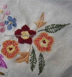 This and that...my random thoughts: Embroidery Patterns