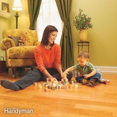 learn how to lay laminate flooring with snap-together wood. it's so easy to install that you can lay a beautiful, yet durable hardwood floor in a weekend