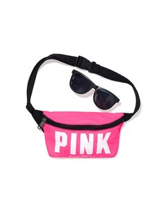 Fanny Pack & Sunglasses - PINK - Victoria's Secret - I HAVE THIS EXACT ONE MY SISTER GOT ME IT LOL I just have to find something to wear that'll go.