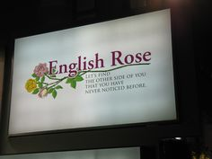 can someone please tell me exactly what goes on at English Rose?