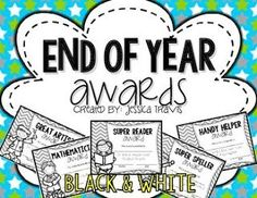 FREE end-of-the-year awards!