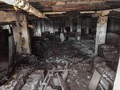 Abandoned Mental Hospital- State School, Newark NY.