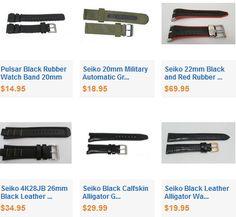 Buy Genuine Seiko Watch Bands Online