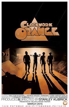 Movie Poster: A Clockwork Orange by Zachary Curl