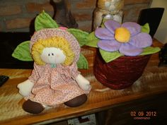 Bonecas Menina Flor