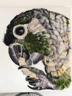 Felt painting Needle Felting, Owl, Bird, Art Work, Painting, Animals, Artwork, Work Of Art, Animales