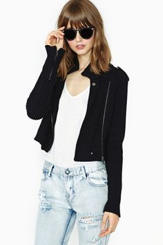 Nasty Gal Moonwalk Crop Jacket Check out the Nasty Gal Sale here! sale here! http://rstyle.me/~Og3z