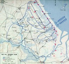 Assault plan for the 4th Division (98Ko)