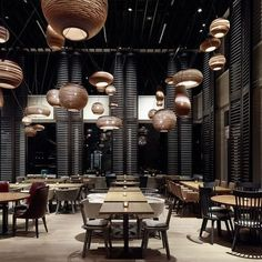 Get to know these Restaurant Design Inspirations! #Interiordesign #lightingdesign #modernstyle