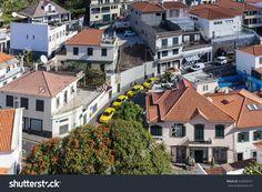 CAMARA DE LOBOS, MADEIRA - SEPTEMBER 14, 2016: Street view of Camara de Lobos, Madeira, Portugal