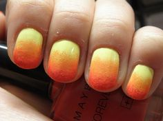 MUST-HAVE: Tequila Sunrise Nail-Art