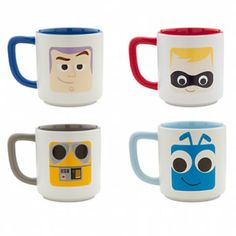 #Disney Pixar Mug Set!