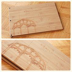 Custom design portfolio book