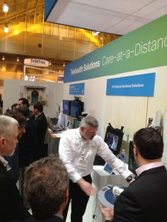 Demo of VX Clinical Assistant at HIMSS 2013