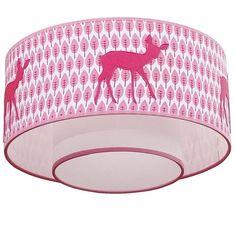 De meeste kinderen vinden dit een hele leuke en mooie lamp met die roze hertjes