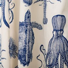 Found it at Joss & Main - Octopus Rod Pocket Curtain Panel