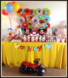 Mickey Mouse Clubhouse Party Birthday Party Ideas | Photo 5 of 11 | Catch My Party