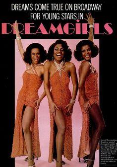Dreamgirls, 1981, Deborah Burrell, Sheryl Lee Ralph & Loretta Devine