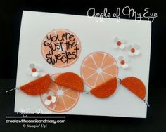 Stampin' Up! Apple of My Eye by Melissa Davies @rubberfunatics #stampinup #rubberfunatics #appleofmyeye