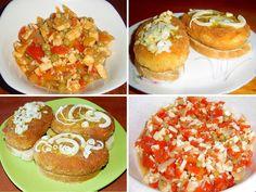 Feferonový salát a původní smaženka, recepty podle bývalé ČSN. • Pamatujete na smaženku? Na tu pradávnou vynikající sýrovou placičku na vece? • Chcete znátjejí Baked Potato, Muffin, Cooking Recipes, Potatoes, Sweets, Baking, Breakfast, Ethnic Recipes, Food