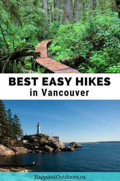 Best easy hikes in Vancouver, British Columbia, Canada. 6 easy hikes with great views that both visitors and locals will love. Beginner hikes in Vancouver. Easy hikes in Vancouver. Short hikes in Vancouver. Backpacking Canada, Canada Travel, Backpacking Trips, Canada Trip, Hiking Europe, Vancouver Travel, Vancouver Island, Hiking Photography, Hiking With Kids