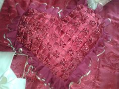 Купить Гарнитур для спальни, покрывало , подушки 3 ,шторы с ламбрикеном - ярко-красный, подарок для влюбленных