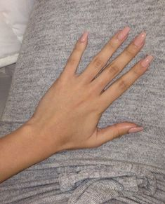 Make an original manicure for Valentine's Day - My Nails Neutral Nails, Nude Nails, Coffin Nails, Acrylic Nails Nude, Natural Acrylic Nails, Natural Fake Nails, Acrillic Nails, Natural Color Nails, Light Pink Acrylic Nails