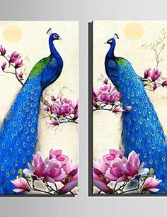 Toile set paysage style europ en cinq panneaux toile for Decoration murale verticale